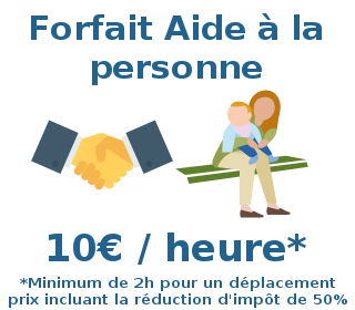 forfait aide personne